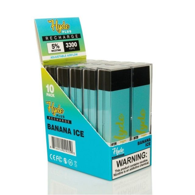 Hyde Recharge Plus Disposable 3300 Puffs 10-Pack Wholesale