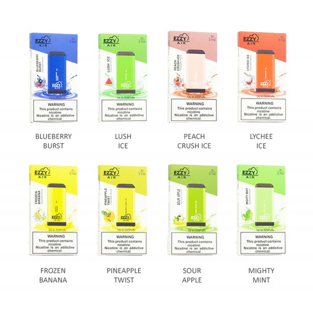 EZZY Air Disposable Vape - Pack of 10