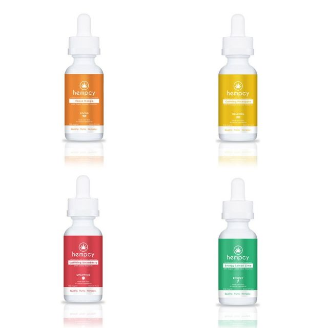 Hempcy Tinctures 30mL Wholesale