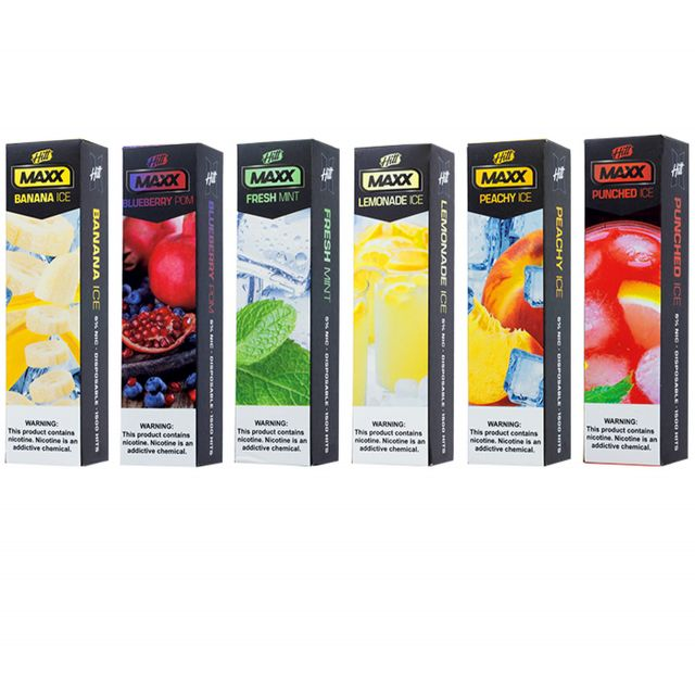 Hitt Max Disposable 1500 Puffs 10 Pack Wholesale