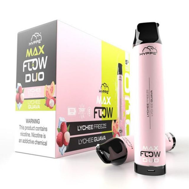 Hyppe Max Flow Duo Disposable 10-Pack