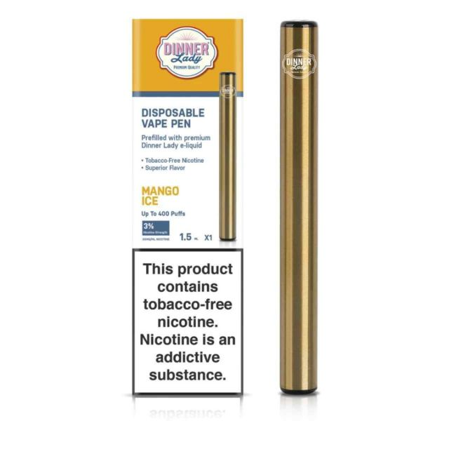 Dinner Lady Tobacco Free Nicotine Disposable Wholesale