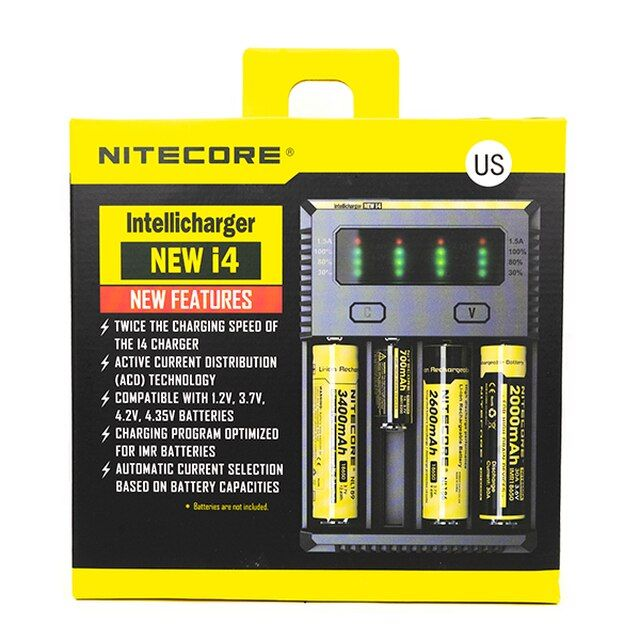 Nitecore i4 Intellicharger Wholesale