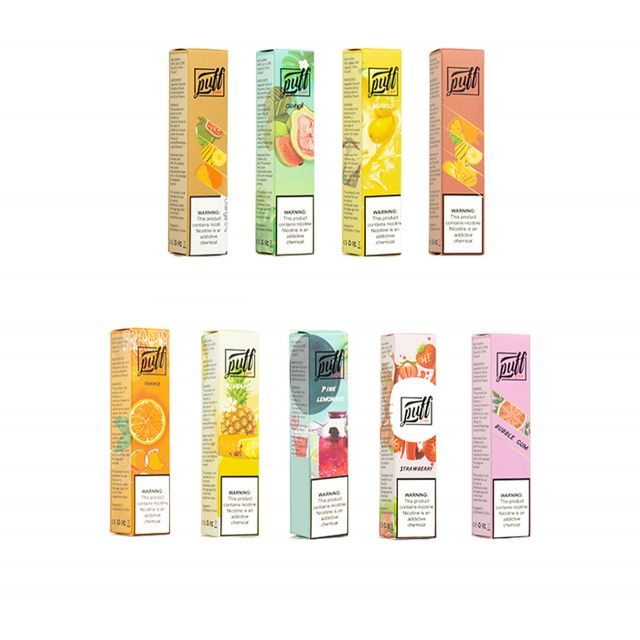 Puff XTRA Disposable Pod Device 5% - Pack of 10 Wholesale