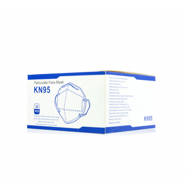 KN95 Face Mask 20 Pack Wholesale
