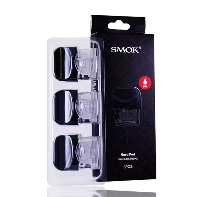SMOK Nord Pod Only 3 Pack Wholesale
