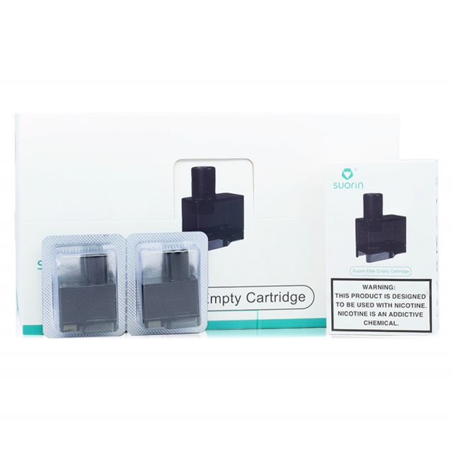 Suorin Elite Replacement Pods 2 Pack Wholesale