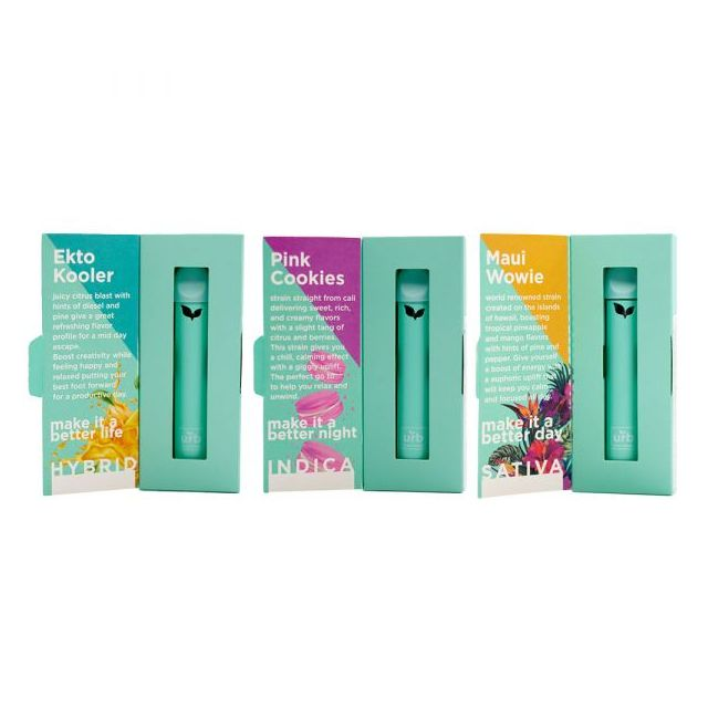 Urb Delta 8 Rechargeable Disposable 1G+