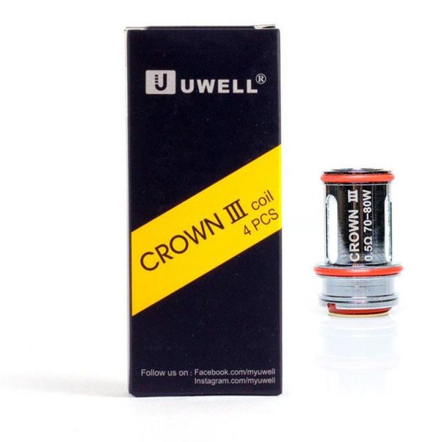 Uwell Crown 3 Coils 4 Pack Wholesale