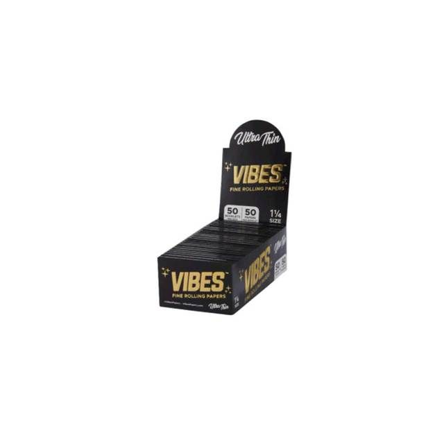 Vibes Ultra Thin Cones King Size 30-Pack Wholesale