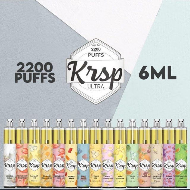 KRSP Ultra Disposable 2200 Puffs 10 Pack