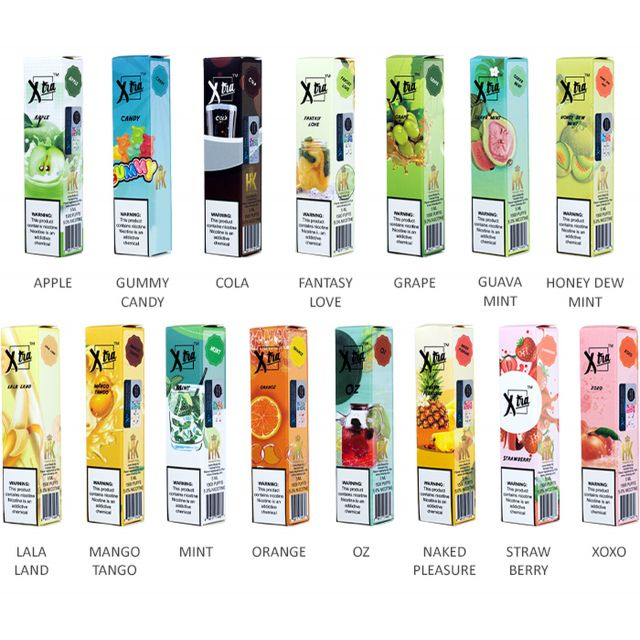 XTRA Disposable Vape - Pack of 10 Wholesale