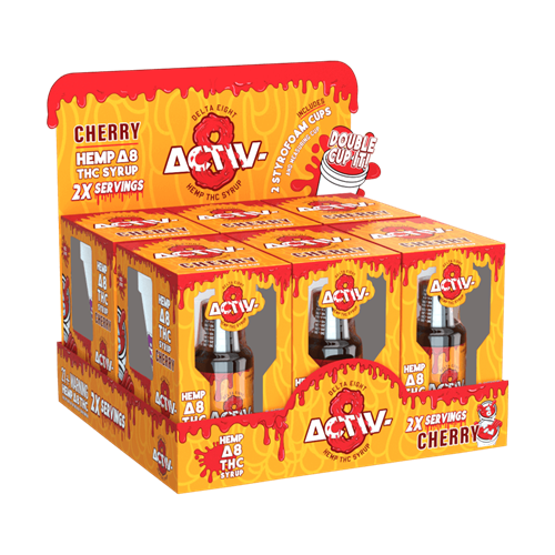 Activ-8 Delta 8 Syrup With Cup