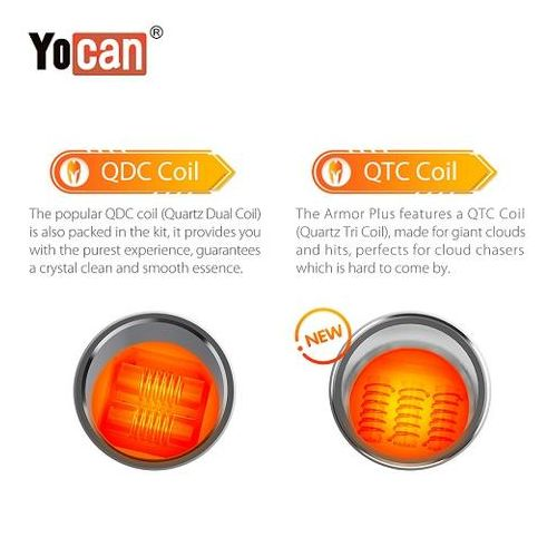 Yocan Armor Plus Coil 5 Pack Wholesale